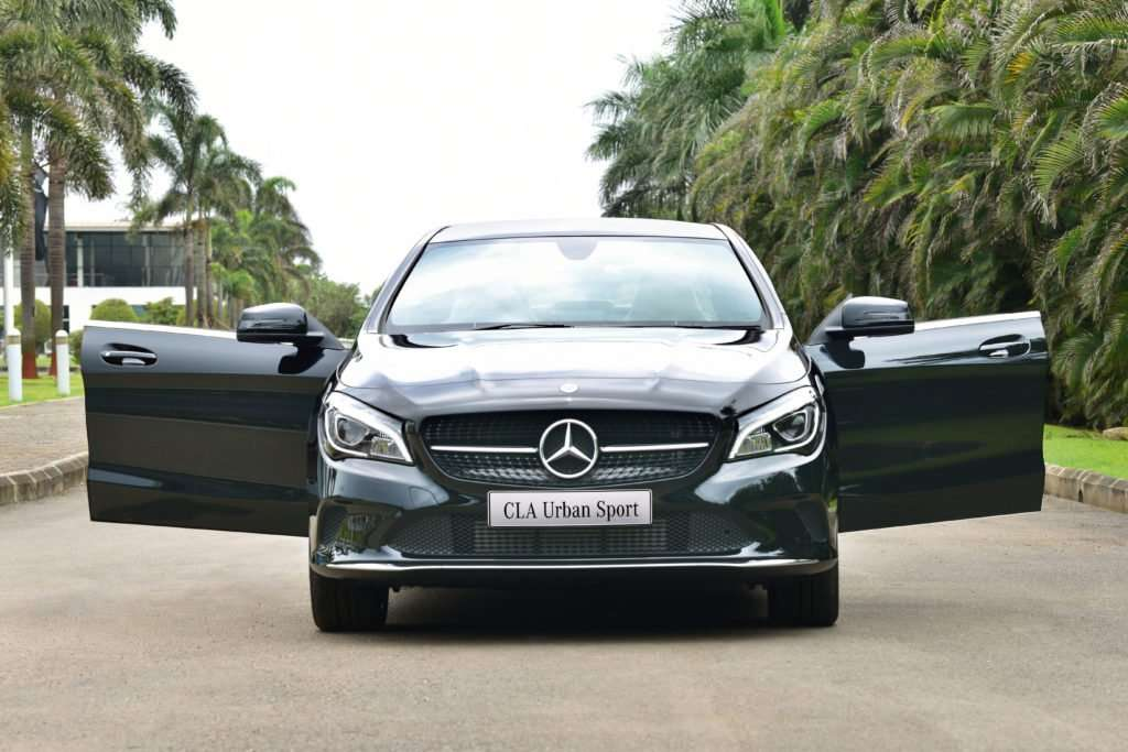Mercedes Benz CLA Urban Sport Is The Latest Addition To The Carmaker's Modern Day Portfolio In India! 4