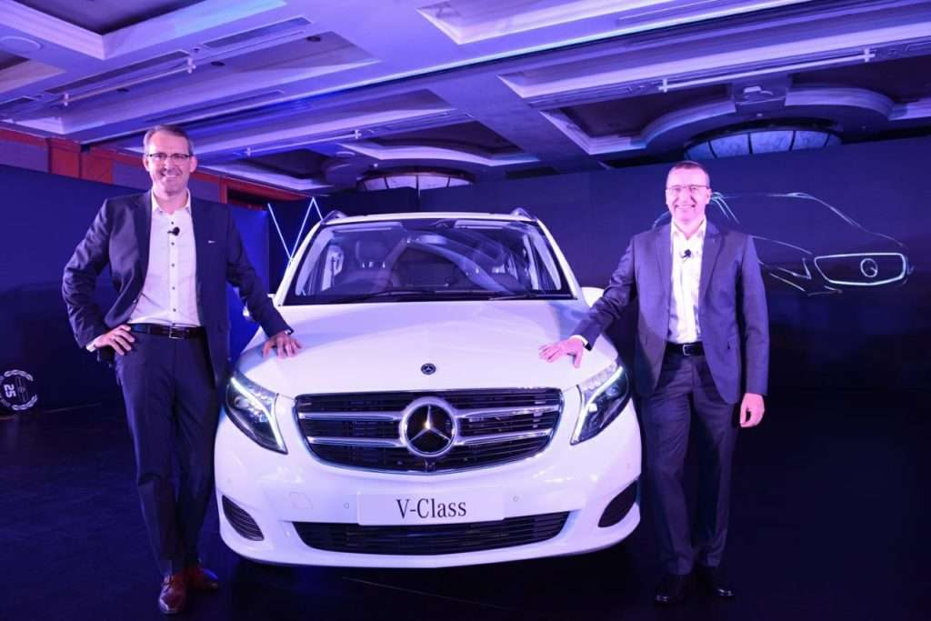 India Says Hello To The 2019 Mercedes Benz V Class ! 4