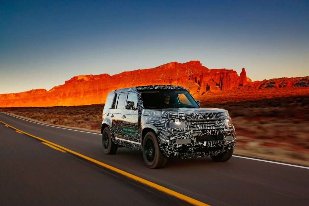Land Rover Defender New Model, Land Rover Defender 2019 Test