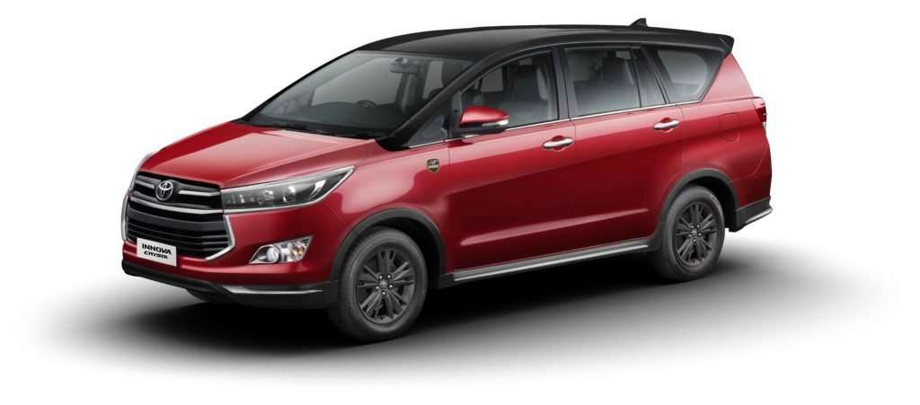Toyota Innova Crysta Leadership Edition Launched In India At INR 21.21 Lakh! 1