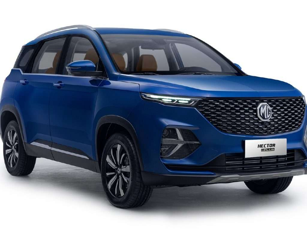 mg hector plus 7 seater
