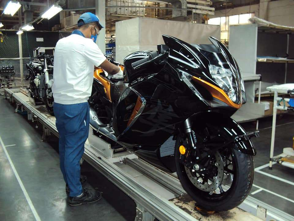 2021 Hayabusa Launched In India At INR 16.40 Lakh! 4