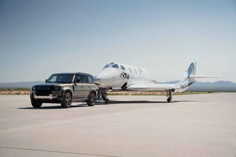 Virgin Galactic's VSS Unity Completes First Full-Crew Space Flight And Land Rover Is A Part Of It Too! 1