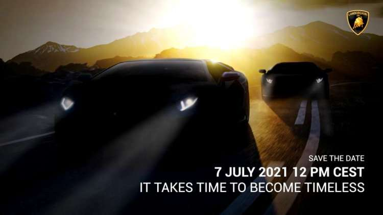 Lamborghini Teases New Model, Could It Be The Aventador Final Version? 2